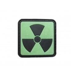4TAC - Naszywka Radioactive II - 3D PVC - Świecące tło