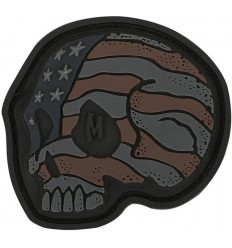 Maxpedition - Naszywka Stars And Stripes Skull - Stealth