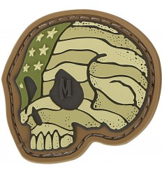 Maxpedition - Naszywka Stars And Stripes Skull - Arid