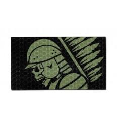 Combat-ID - Naszywka Husarz - OD / Czarny - Gen I