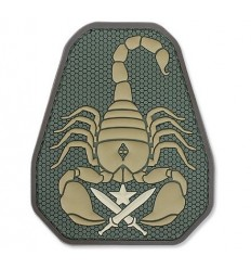 MIL-SPEC MONKEY - Naszywka Scorpion Unit - 3D PVC - MultiCam