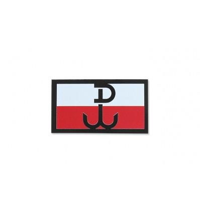 KAMPFHUND - Naszywka Polska Walcząca - Mała - Kolor - Gen II IR