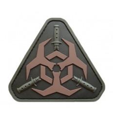 MIL-SPEC MONKEY - Naszywka Outbreak Response Team - PVC - Dark Ops