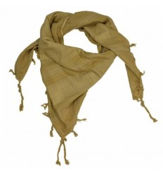 101 Inc. - Arafatka PLO Scarf Warrior - 100% Cotton - Coyote