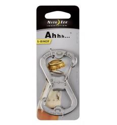 Nite Ize - Karabinek / Otwieracz - S-Biner Ahhh Bottle Opener - Stalowy - SBO-03-11
