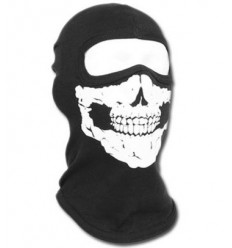 Fostex - Kominiarka / Balaclava Skull - Czarny
