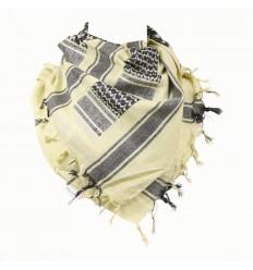 101 Inc. - Arafatka PLO Scarf 100% Cotton - TAN / Czarny