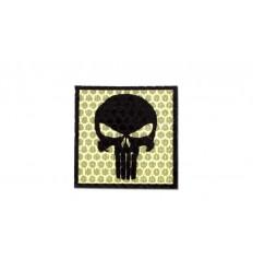 Combat-ID - Naszywka Punisher - Piaskowy - Gen I - H5