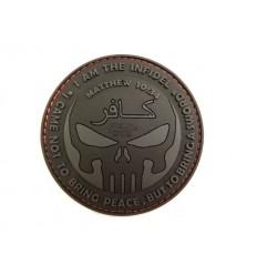 JTG - Naszywka The Infidel Punisher - 3D PVC - Black Ops
