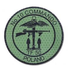 Combat-ID - Naszywka 1 SAMODZIELNA KOMPANIA COMMANDO Lubliniec