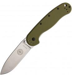 Esee - Avispa OD Green Handle Satin Blade - BRK1301OD - Nóż składany