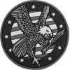 Maxpedition - Naszywka American Eagle - EAGLS - SWAT