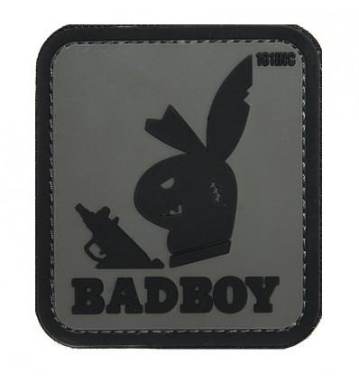 Patch - Naszywka BADBOY - 3D PVC - Grey