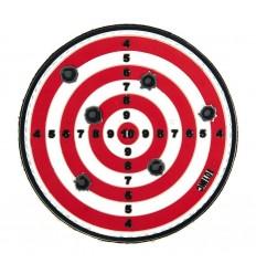 101 Inc. - Naszywka Target - 3D PVC - Czerwony