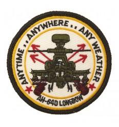 101 Inc. - Naszywka AH-64D APACHE Longbow