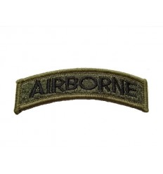 101 Inc. - Naszywka Airborne Tab - Olive