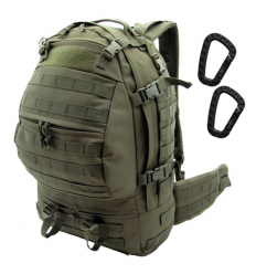 CAMO - Plecak CARGO Backpack - 32Litry - Zielony OD - PL-CA-BP-OG