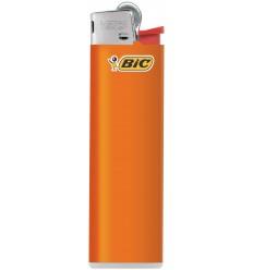 BIC - Zapalniczka gazowa / krzesiwowa J23 Slim - Pomarańczowy