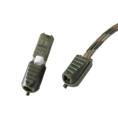 Końcóka / Uchwyt linki - Zipper - Zielony
