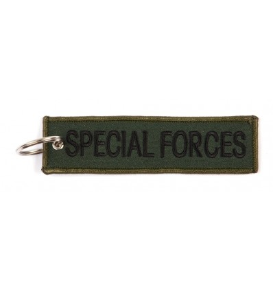 Brelok / Zawieszka do kluczy - SPECIAL FORCES - Zielony OD