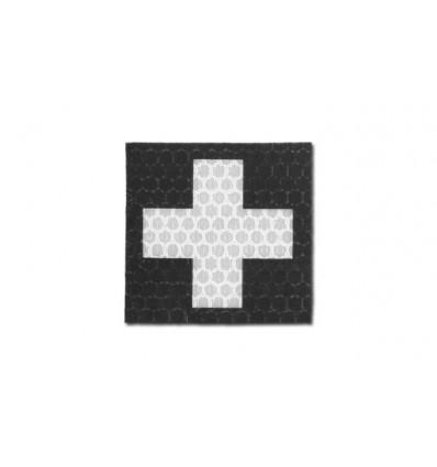 Combat-ID - Naszywka Krzyż - Czarny - Gen I