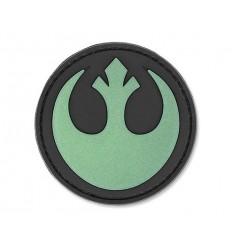 4TAC - Naszywka Rebel Star Wars - Świecąca - 3D PVC