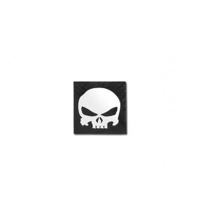 Combat-ID - Naszywka SQR Punisher Skull - Czarny - Gen III