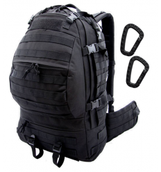 CAMO - Plecak CARGO Backpack - 32Litry - Czarny - PL-CA-BP-BL
