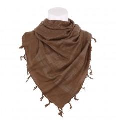 101 Inc. - Arafatka PLO Scarf 100% Cotton - Brązowy