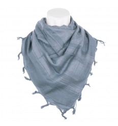 101 Inc. - Arafatka PLO Scarf 100% Cotton - Wolf Grey / Szary