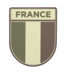 101 Inc. - Naszywka FRANCE - Tarcza - 3D PVC - MultiCam