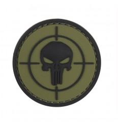 101 Inc. - Naszywka Punisher sight - 3D PVC - Zielony