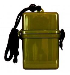 Fosco - Pudełko / Pojemnik wodoszczelny z linką - Olive
