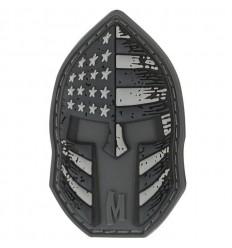 Maxpedition - Naszywka Stars And Stripes Spartan Helmet - SWAT