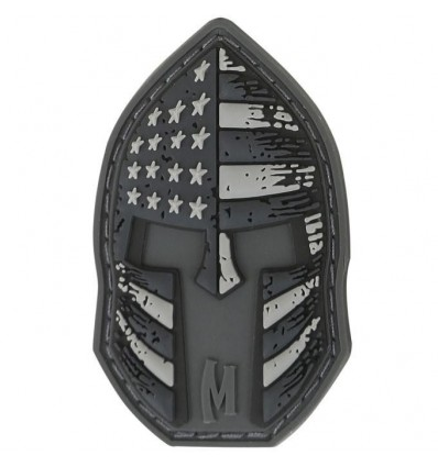 Maxpedition - Naszywka Stars And Stripes Spartan Helmet - SWAT