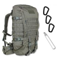 WISPORT - Plecak ZipperFox - 40L - RAL 7013 /gaszona oliwka/