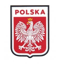 101 Inc. - Naszywka Polska Godło /wer. pilota - 3D PVC - Kolor