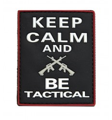 101 Inc. - Naszywka Keep Calm And Be Tactical - 3d PVC