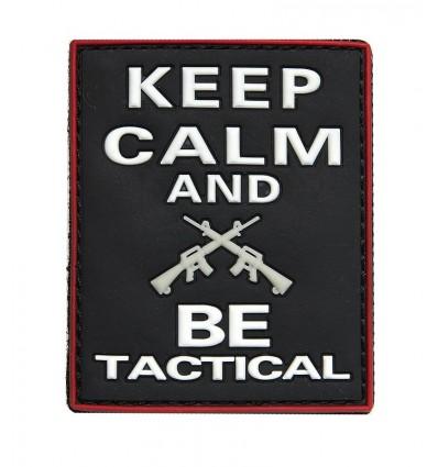 101 Inc. - Naszywka Keep Calm And Be Tactical - 3d PVC