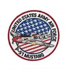 101 Inc. - Naszywka P-51 Mustang - United States Army Air Force