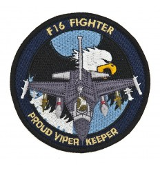 101 Inc. - Naszywka F-16 Fighter - Proud Viper Keeper