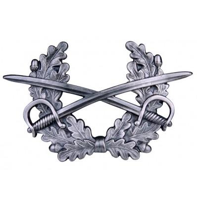 Odznaka na czapkę - Skrzyżowane szable z wieńcem Bundeswehra - oryginał