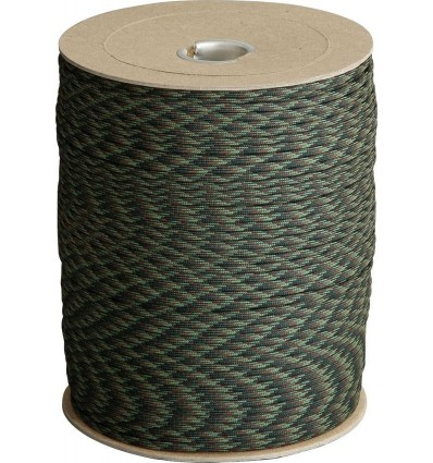 Paracord MIL-SPEC 550-7 / 4mm kontraktowy Woodland MADE IN USA - 1 metr