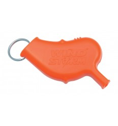 All Weather Safety Whistle - Gwizdek WInd Storm Safety Whistle - AW5 - Orange