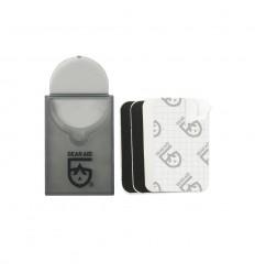 Gear AId - Łatki naprawcze - Tenacious Tape Mini Patches - Czarne / Przezroczyste - 10760