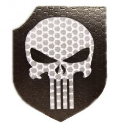 Combat-ID - Naszywka Punisher - Act Of Valor Navy Seals Gen I - Czarny