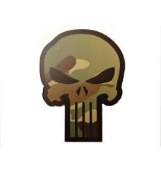 Combat-ID - Naszywka Punisher - MultiCam - NIR