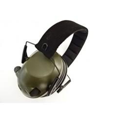 Mil-Tec Plus - Profesjonalne słuchawki ochronne - Aktywne - EED - ZIelony - 16243001
