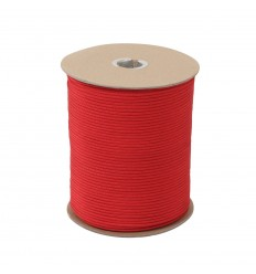 Atwood - Linka Paracord MIL-SPEC 550-7 / 4mm kontraktowy Military Red MADE IN USA - 1 metr