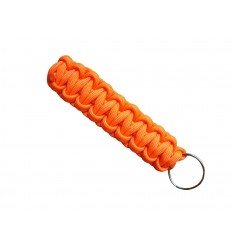 MALAMUT - Brelok surwiwalowy do kluczy Gekon - Paracord 1,4m (Made USA) - Neon Orange